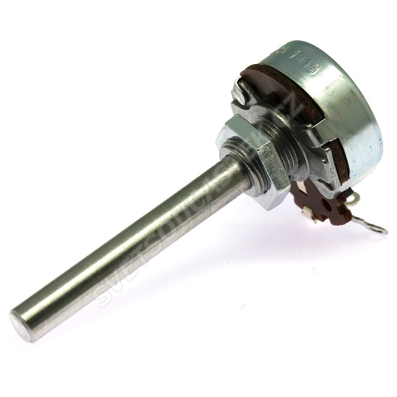 Potenciometr drátový 4W MONO 100R Ohm lineární AB Elektronik AW 100R