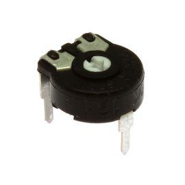 Uhlíkový trimr 10mm lineární 100k Ohm ležatý 20% Piher PT10LV10-104A2020S