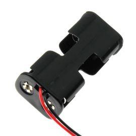 Pouzdro pro baterie 2xAA s vodiči 150mm 3V COMF BH322-1A