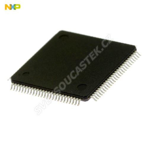 32-Bit MCU ARM 2.4-3.6V 128kB Flash 100MHz  LQFP100 NXP LPC1764FBD100,551