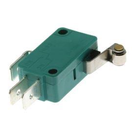 Mikrospínač na faston 6.3mm přepínací 1-pólový ON-(ON) 16A 125/250V AC Jietong  MSW-03A L=12mm