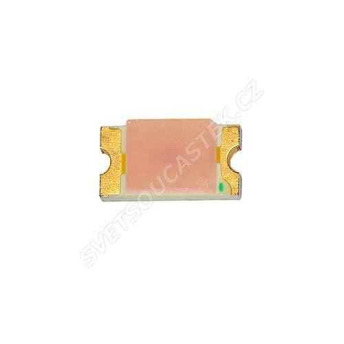 LED SMD vel. 0603 červená 130mcd/130° Hebei 0603KRCT