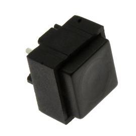 Tlačítkový spínač do DPS přímý spínací 1-pólový (ON)-OFF 0.25A 50V Jietong  PBS-18B BLACK