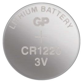 Lítiová gombíková batéria GP CR1220