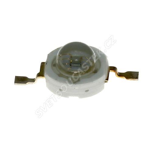 LED 1W kulatá červená 50lm/120° Hebei E12LR2C
