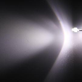LED 1,8mm stud. bílá 4000mcd/30° čirá Hebei 130PWC