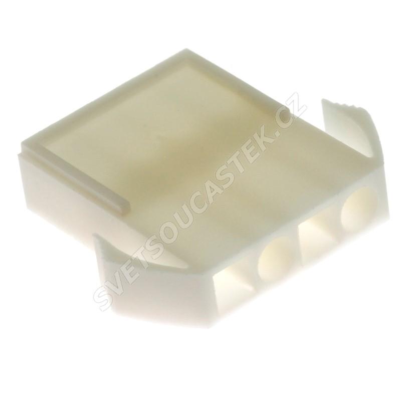 Konektor se zámkem pro 4 piny (1x4) na kabel RM4.5mm Xinya 138-04 M