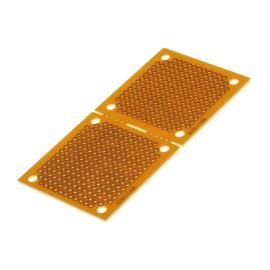 Univerzální plošný spoj 91x45x1,6mm vrtaný RM 2.54 kulaté body SCI PC-2