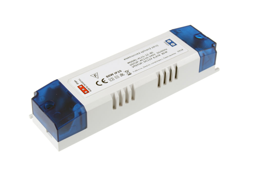 Napájecí zdroj pro LED pásky PLCS-12-80