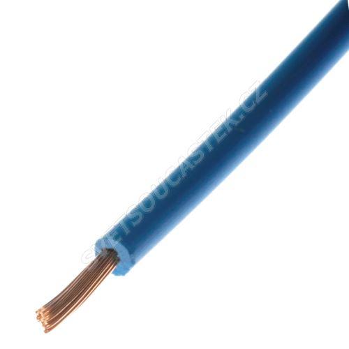 Jednožilový vodič lanko 1x0.5mm světle modrý H05V-K (LgY, CYA) 300/500V