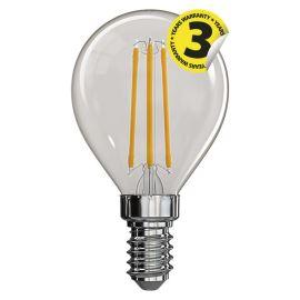 LED žiarovka Filament Mini Globe A ++ 4W / 360 ° neutrálna biela E14 / 230V Emos Z74231
