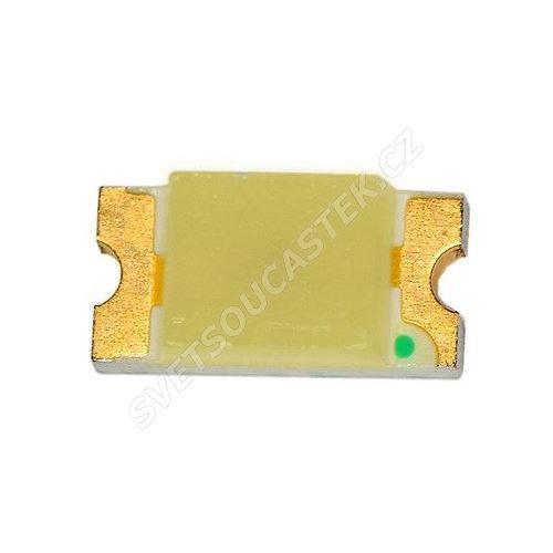 LED SMD vel. 1206 žlutá 120mcd/130° Hebei 1206KYCT