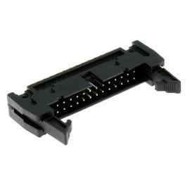 Konektor IDC pro ploché kabely 26 pinů (2x13) RM2.54mm do DPS přímý Xinya 119-26 G S K