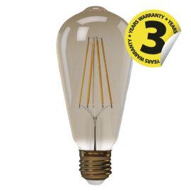LED žiarovka Vintage ST64 4W / 360 ° teplá biela E27 / 230V Emos Z74302