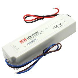 Napájací zdroj pre LED pásky 100W 24V / 4.2a IP67 Mean Well LPV-100-24