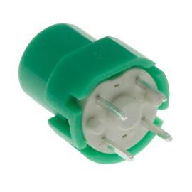 Tlačítkový spínač do DPS přímý spínací 1-pólový OFF-(ON) 0.01A 35V DC Highly KS01-BMG