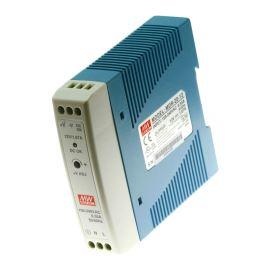 Průmyslový napájecí zdroj na DIN lištu 20W 12V/1.67A Mean Well MDR-20-12
