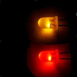 LED 5mm červeno-žlutá 30/10mcd/60° Difúzní Kingbright L-57EYW