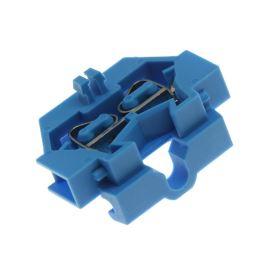 Svorkovnice na DIN lištu modrá 400V/18A WAGO 260-304