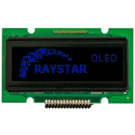 Grafický OLED displej Raystar REG007616ABPP5N00000