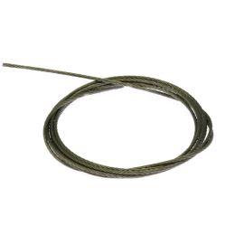 Ocelové lanko průměr 1mm délka 1m KLUŚ 1397
