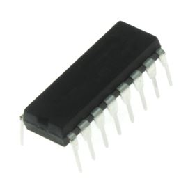 Rozhraní pro RS232 2x driver/ receiver 5V DIP16 texas Instrument MAX232N