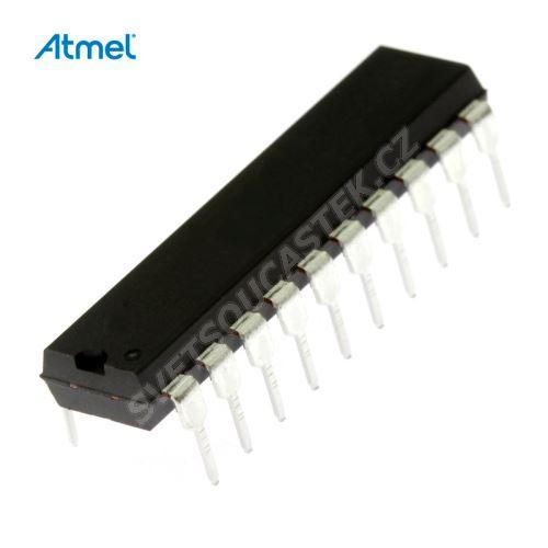 8-Bit MCU 2.7-6V 2K-Flash 24MHz DIP20 Atmel AT89C2051-24PU