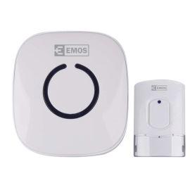 Bezdrátový domovní zvonek bílý Emos P5718W