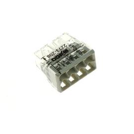Wago svorka krabicová transparentní 450V/24A WAGO 2273-208