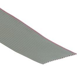 Plochý kábel AWG28 20 žil licna rozteč 1,27mm PVC šedá farba