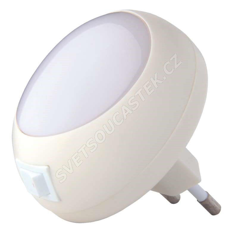 Noční světlo s vypínačem do zásuvky 5x LED, 230V