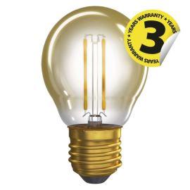 LED žiarovka Vintage Mini Globe 2W / 360 ° teplá biela E27 / 230V Emos Z74306