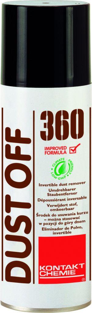 KONTAKT CHEMIE Sprej stlačený vzduch KONTAKT CHEMIE DUST OFF 360 HFO- 200 ml