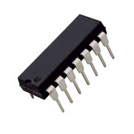 Lineární napěťový regulátor vstup max. 40V výstup 2..37V 0.15A DIP14 STM LM723CN