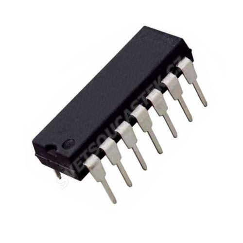 Časovač 500kHz napáj. 4.5..16V DIP14 Texas Instruments NE556N