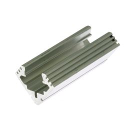 Lišta na LED pásky 45-ALU 1m KLUŚ B4023