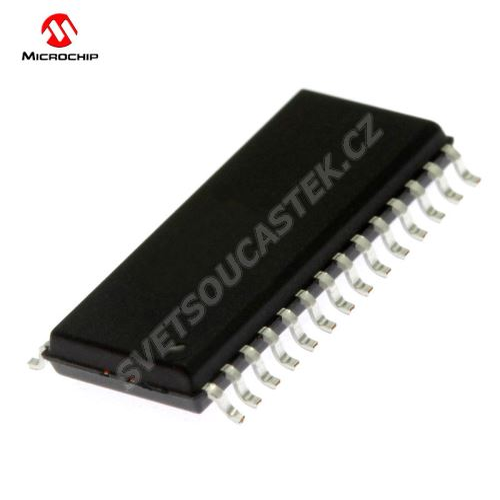 8-Bit MCU 1.8-5.5V 32kB Flash 64MHz SSOP28 Microchip PIC18F25K80-I/SS
