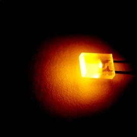 LED obdélníková 5x2mm žlutá 4mcd/30° difúzní Kingbright L-113YDT