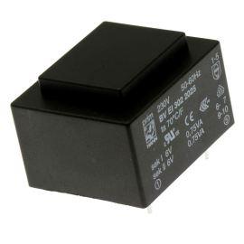 Transformátor do DPS 1.5VA/230V 2x6V Hahn BV EI 302 2025