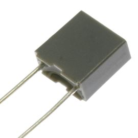 Fóliový kondenzátor 47nF/100V RM 5mm 7.2x6.5x2.5mm Faratronic C242A473J20A201