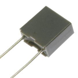 Fóliový kondenzátor odrušovací X2 100nF/275V RM 15mm 17.5x11x5mm Faratronic C42P2104K6SC000