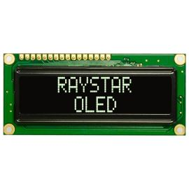 Alfanumerický OLED displej Raystar REC001602AWPP5N00000