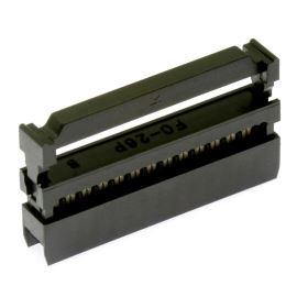 Konektor IDC pro ploché kabely 26 pinů (2x13) RM2.54mm na kabel přímý Xinya 110-26 T A K