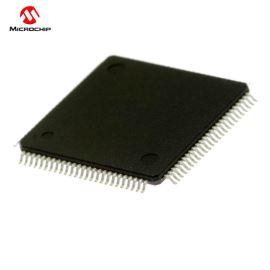 32-Bit MCU 2.3-3.6V 80Mhz 512kB Flash TQFP100 Microchip PIC32MX795F512L-80I/PT