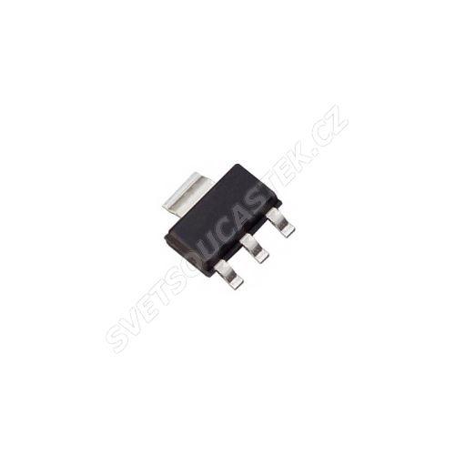 LDO napěťový regulátor vstup 4.75..15V výstup 3.3V 0.8A SOT-223 STM LD1117S33TR