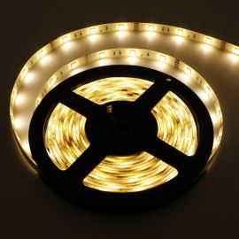 LED pásek teplá bílá délka 1 metr, SMD 5050, 30LED/m - vodotěsný (silikagel) - IP65 STRF 5050-30-WW-IP65