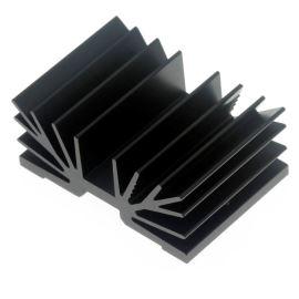 Hliníkový chladič 54x37.5x22.5 Fischer Electronic SK65/37,5/SA1XM3