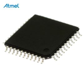 8-Bit MCU AVR 1.8-5.5V 64kB Flash 16MHz TQFP44 Atmel ATMEGA644A-AU