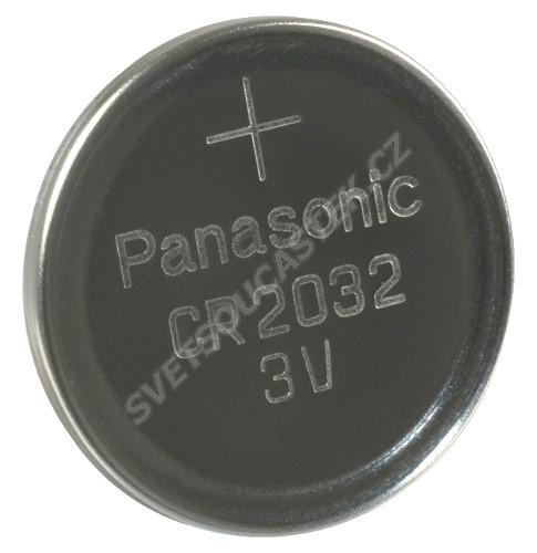 Lítiová gombíková batéria Panasonic CR2032