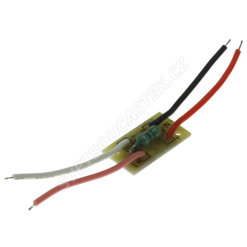LED driver pro napájení z 1.5V baterie výst. 3V Optosupply OELLP